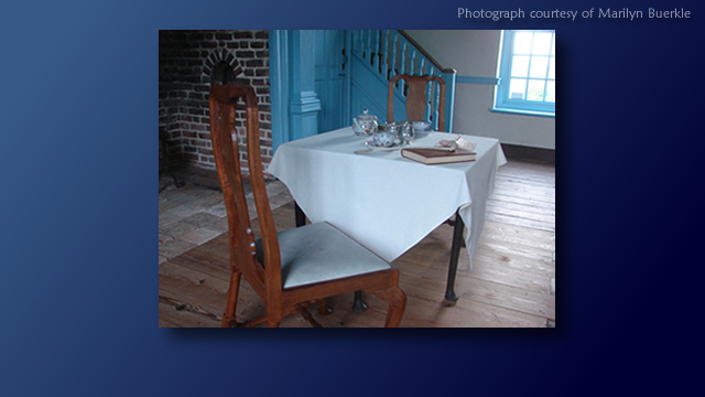 Pemberton Hall - Dining table